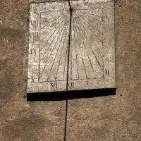 cadran solaire du temple de Lapras
